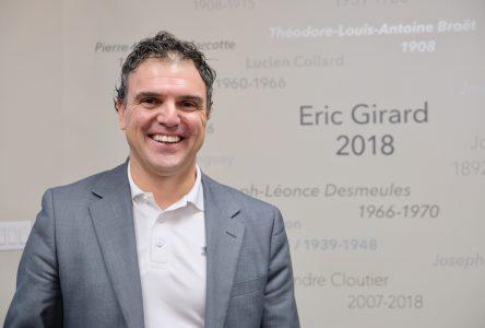 Année chargée pour Éric Girard: Éducation, forêt et organismes communautaires