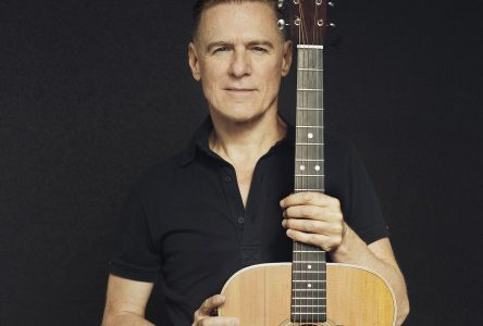 Bryan Adams à Alma : Les coulisses !