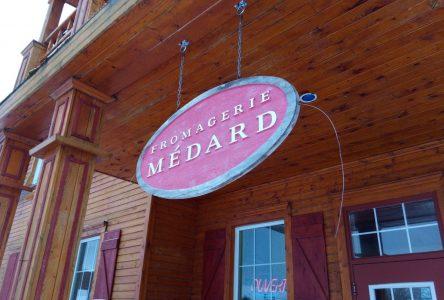 Fromagerie Médard : Un projet d'expansion de 2 millions de dollars