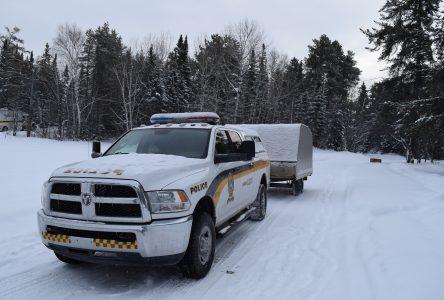 Lac-Saint-Jean : Deux motoneiges retrouvées