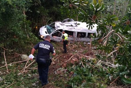 Trois Almatois blessés dans un accident ayant fait un mort à Playa del Carmen