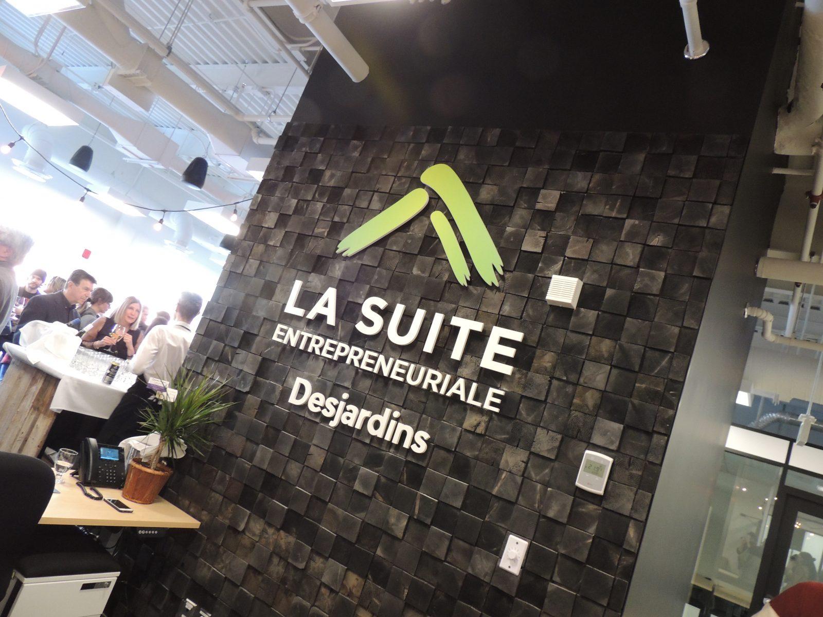 Incubateur d'entreprises : Desjardins lance La SUITE entrepreneuriale