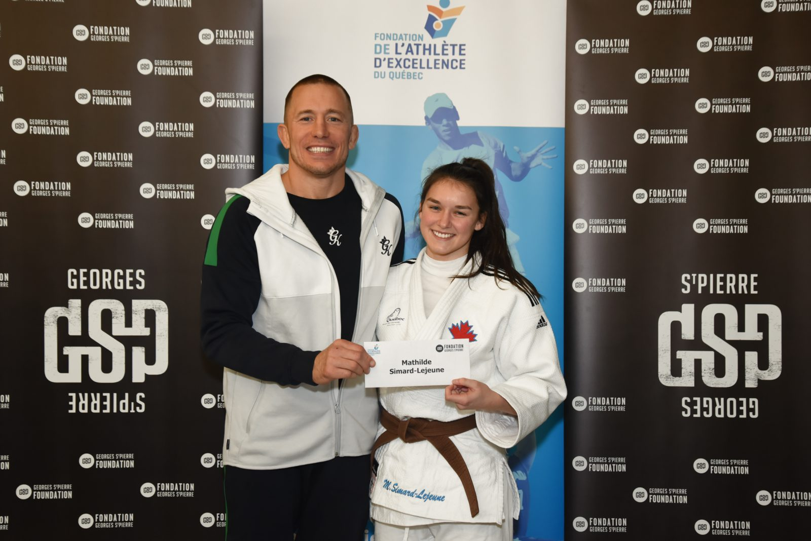 Judo: Mathilde Simard-Lejeune récompensée pour son excellence académique