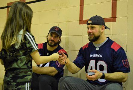 Alouettes de Montréal: Une expérience inoubliable pour les jeunes de l'école Saint-Sacrement