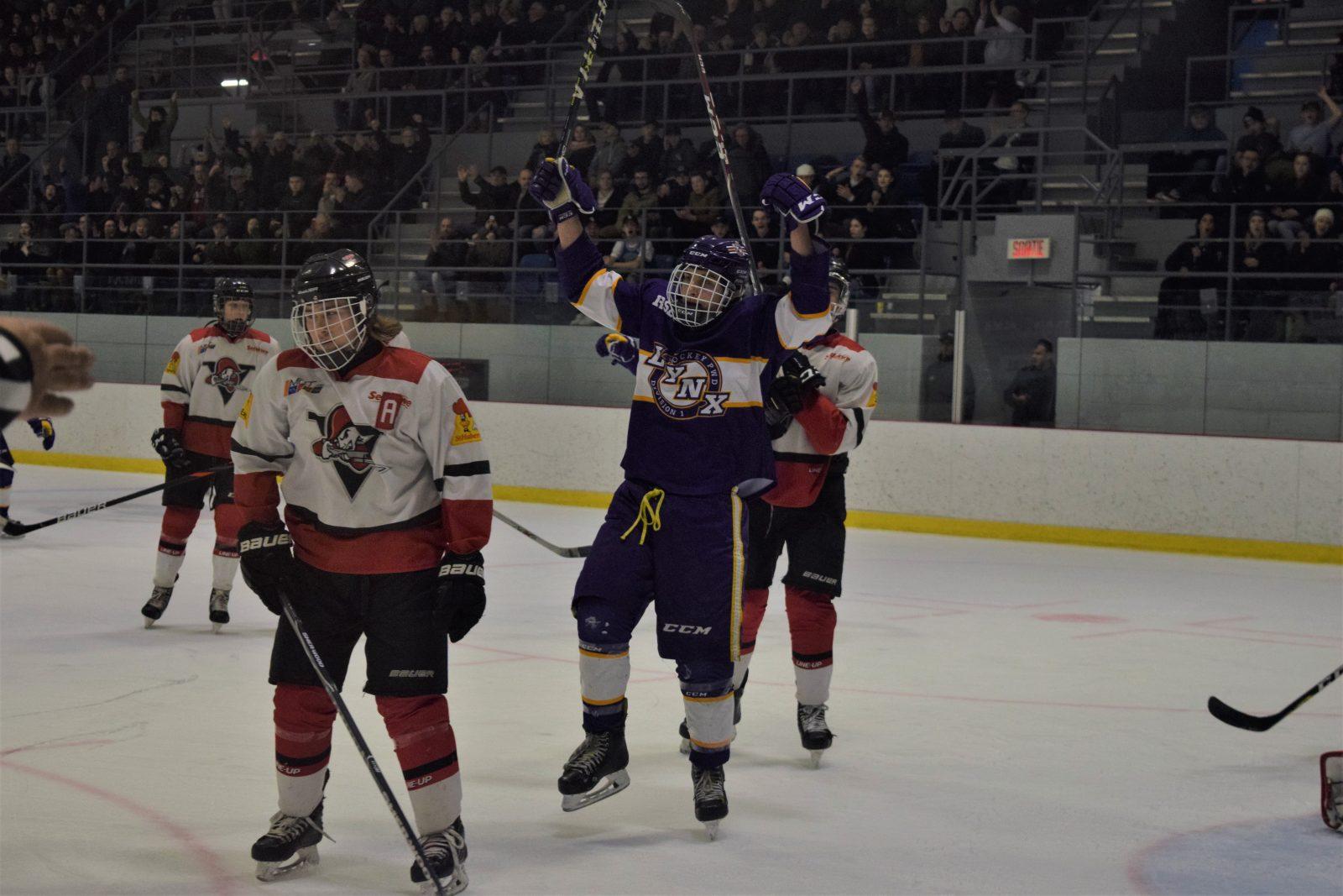 Hockey scolaire: Les Lynx auront leur équipe Juvénile D2
