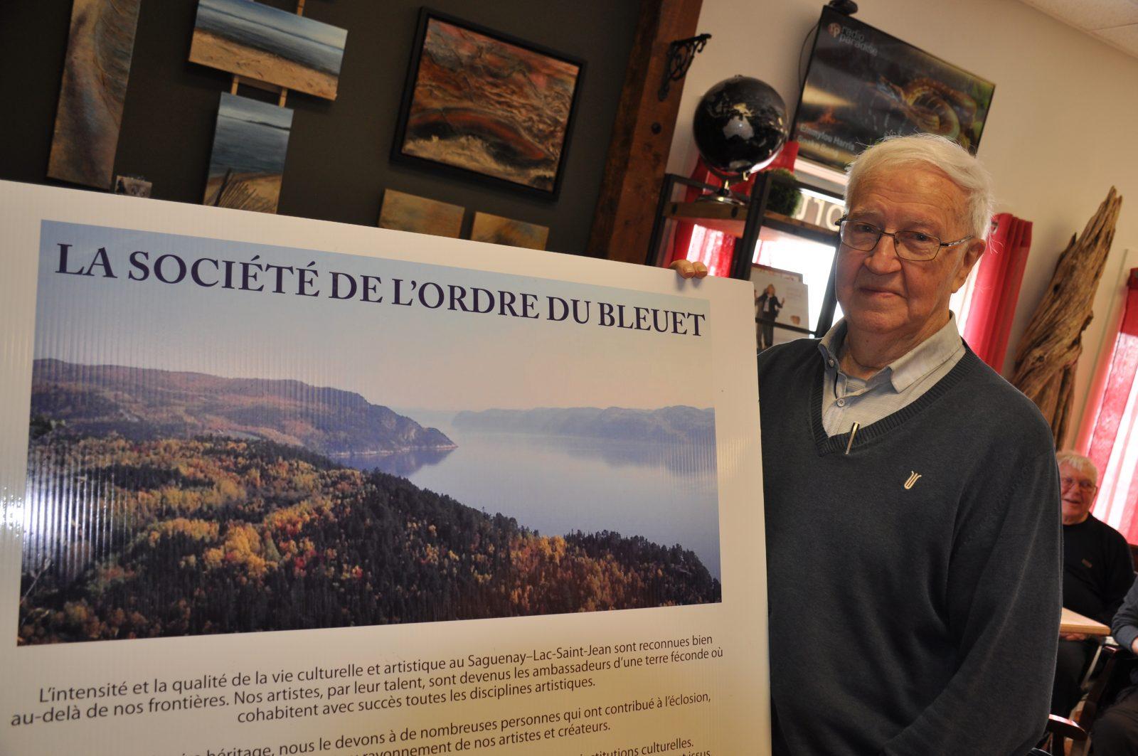 Société de l'Ordre du Bleuet: Roger Lajoie intronisé