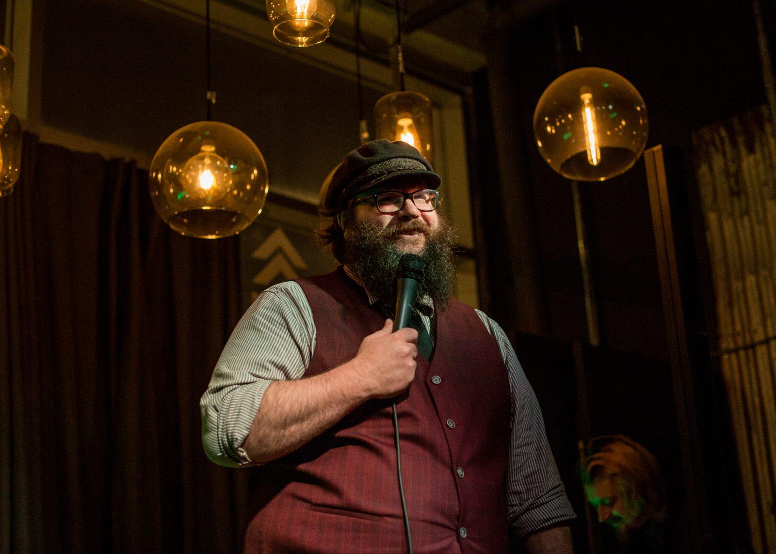 Humoriste d'Alma: Guillaume Boldock est allé all-in à Montréal
