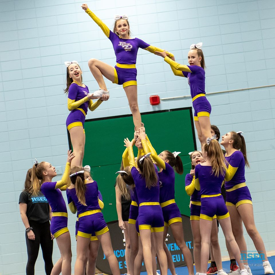Pavillon Wilbrod-Dufour : Le cheerleading en bonne santé