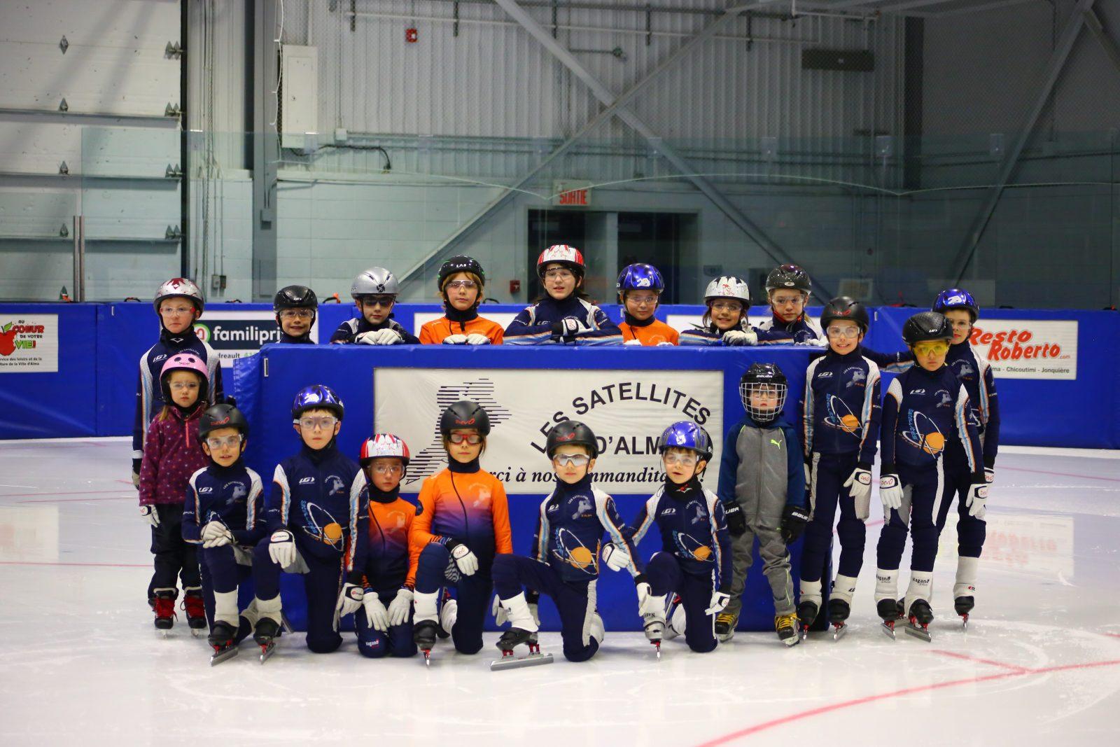 Club Les Satellites d'Alma: Des patineurs à toutes les compétitions de fin de saison
