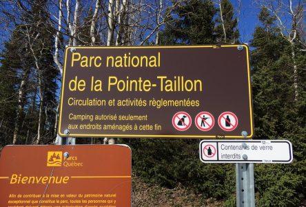 Parc national de la Pointe-Taillon: Vers une réouverture progressive