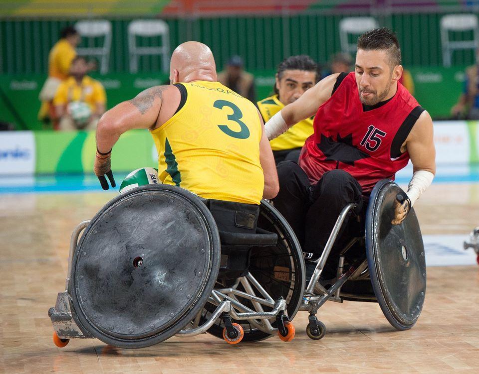 Patrice Simard : Une vedette canadienne du rugby en fauteuil roulant