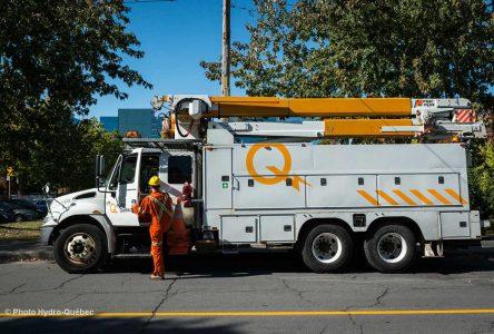 25 701 clients privés d'électricité dans la région