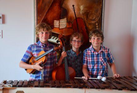 Les frères Garneau ont brillé au festival de Rivière-du-Loup