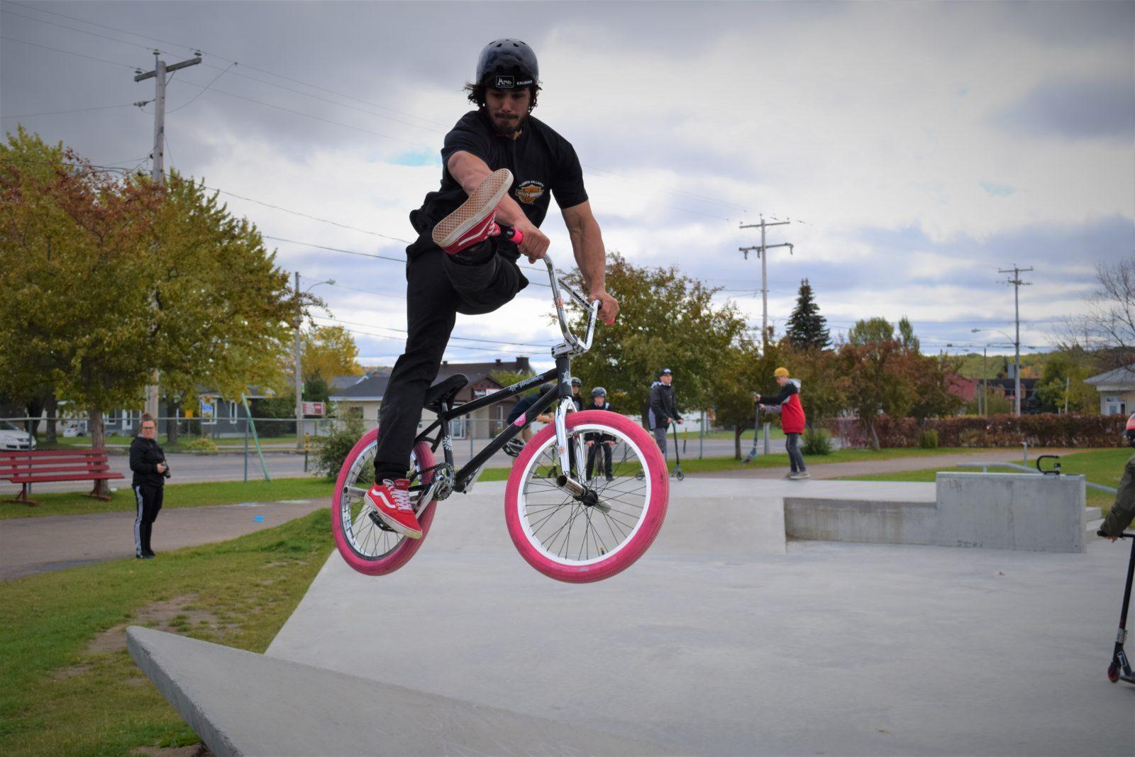 Les skateparks ont toujours la cote!