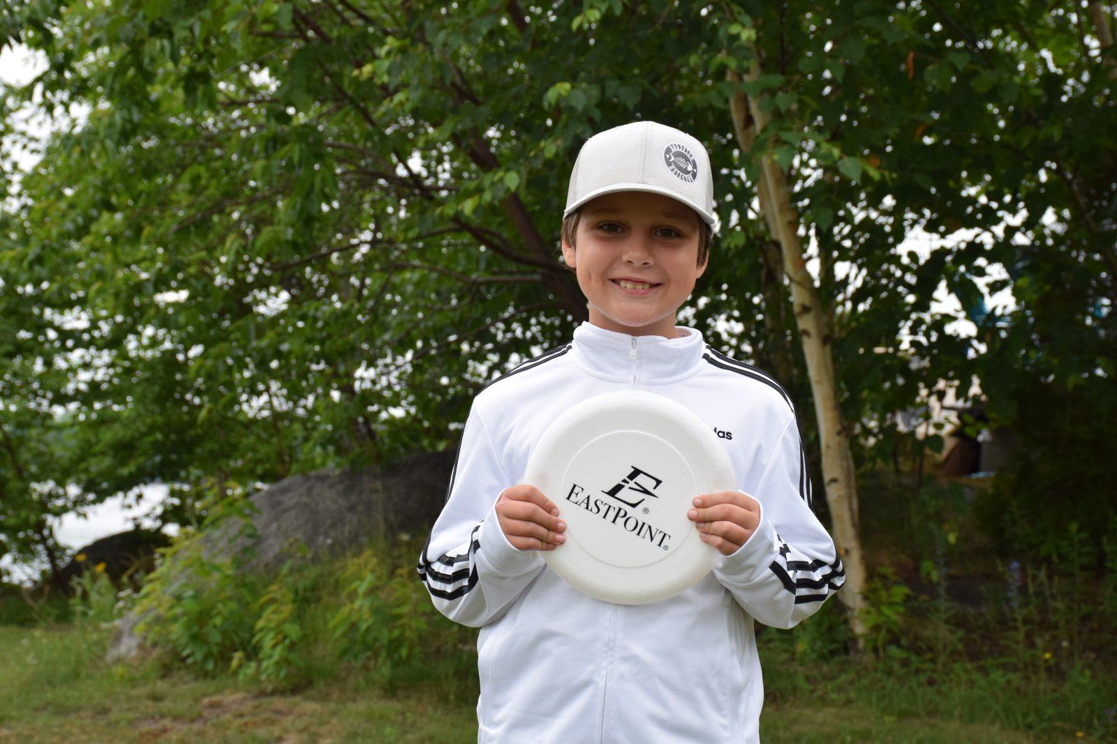 Frisbee-golf: Le projet du jeune Vincent verra le jour à Alma