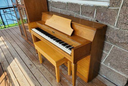 Alma a enfin son piano public extérieur!