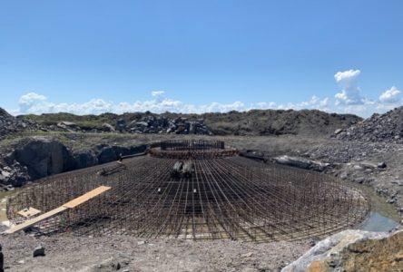 Après 15 ans: Les travaux sont finalement en cours pour le parc éolien Belle-Rivière
