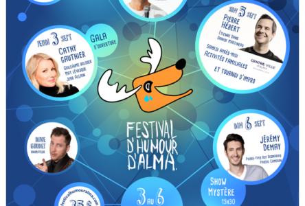 Festival d'humour d'Alma: La 4e édition est reportée à 2021