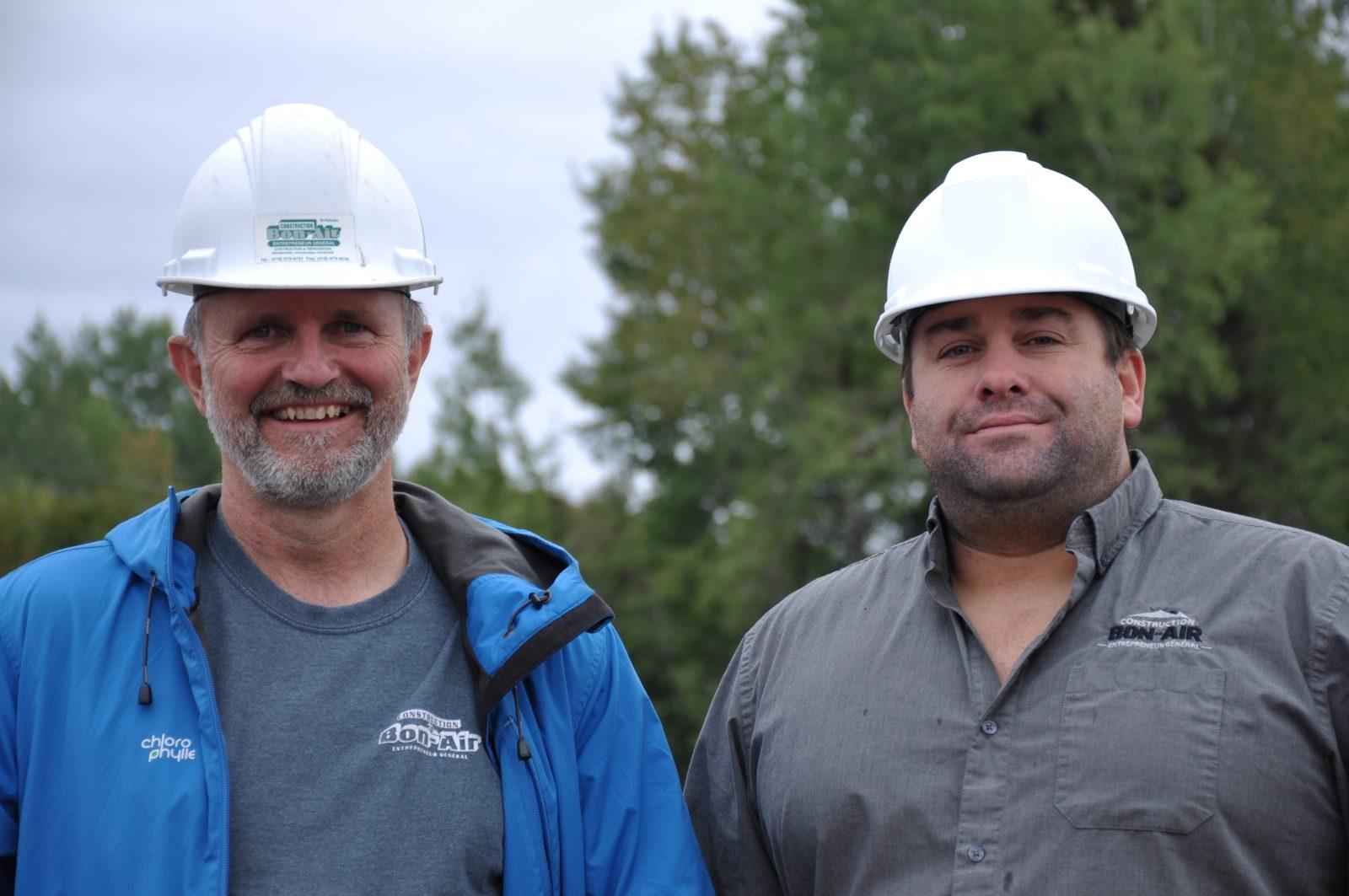 Investissements de 2 M$: Construction Bon-Air mise sur l'avenir
