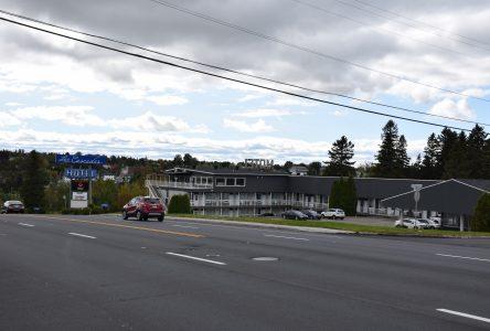 L'hôtel motel Les Cascades démoli