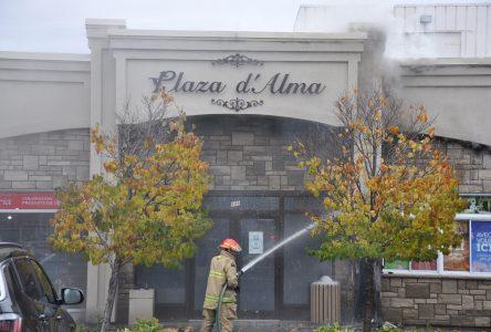 Incendie à la Plaza d'Alma