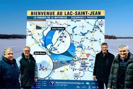 Municipalités du secteur sud: De nouvelles affiches touristiques dans les sentiers de motoneige