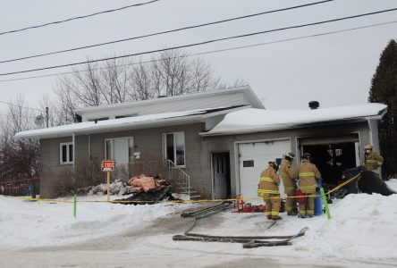 Incendie dans une résidence d'Alma
