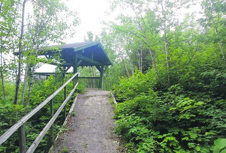 Amélioration des sentiers  du lac de l'Aqueduc – Larouche  investit dans les activités plein air