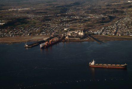 Rio Tinto : Modernisation des  installations portuaires  à Saguenay