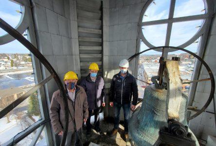Un important chantier à l'église Saint-Joseph d'Alma
