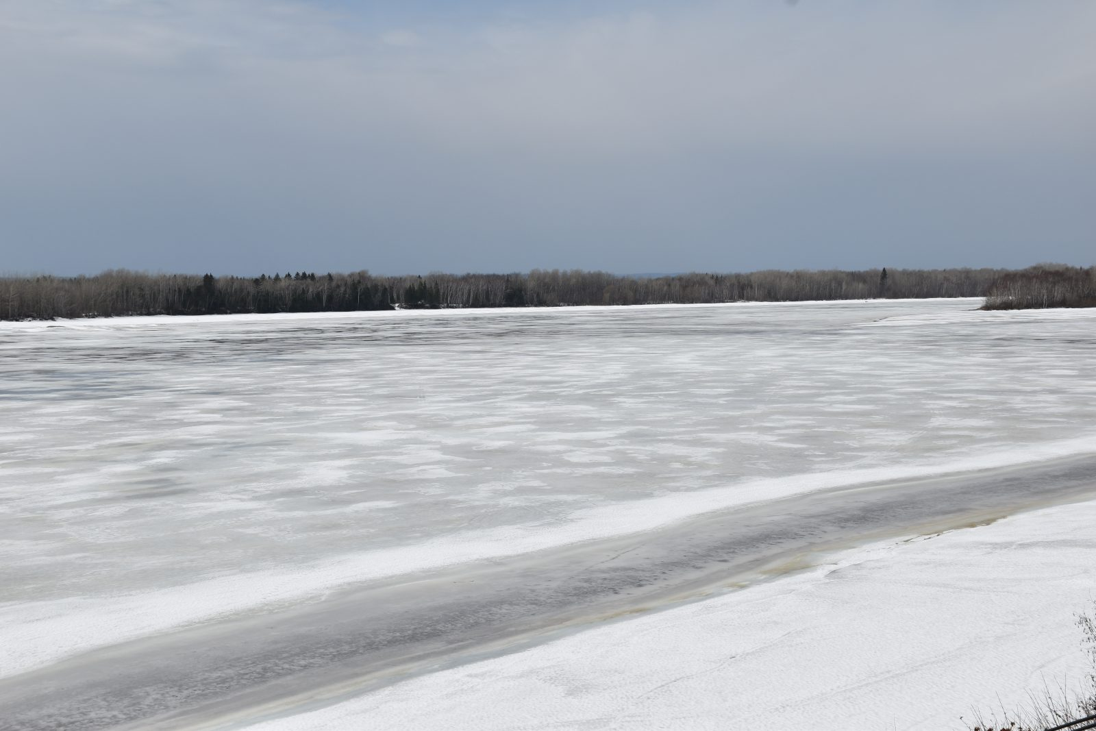 Lac Saint-Jean: crue hâtive ce printemps