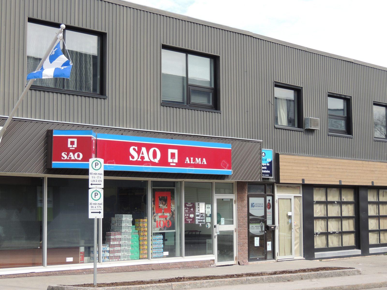 Alma: plus de SAQ au centre-ville