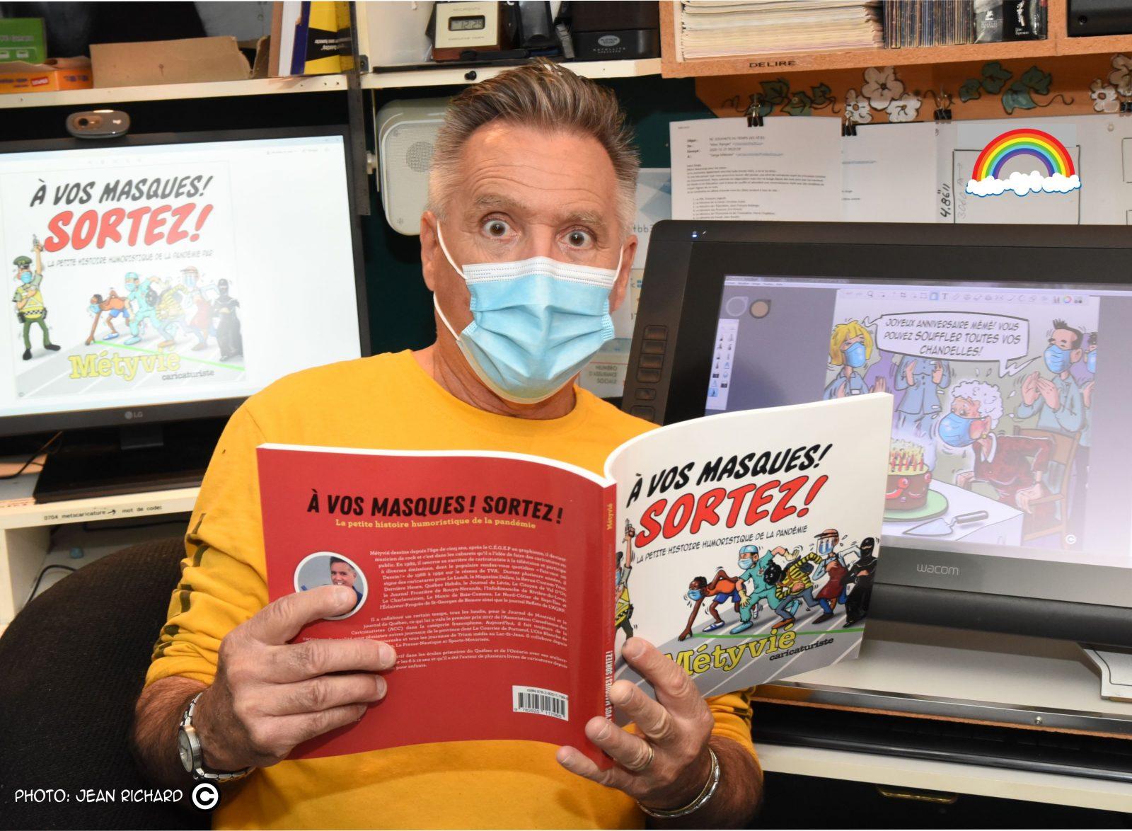 «À vos masques, Sortez!»: un retour en caricatures sur la pandémie