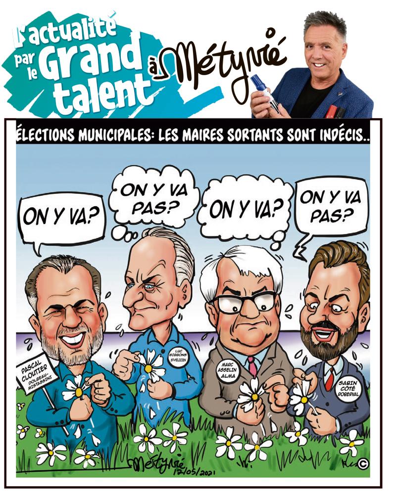 L'actualité par le Grand talent à Métyvié du 12 mai 2021