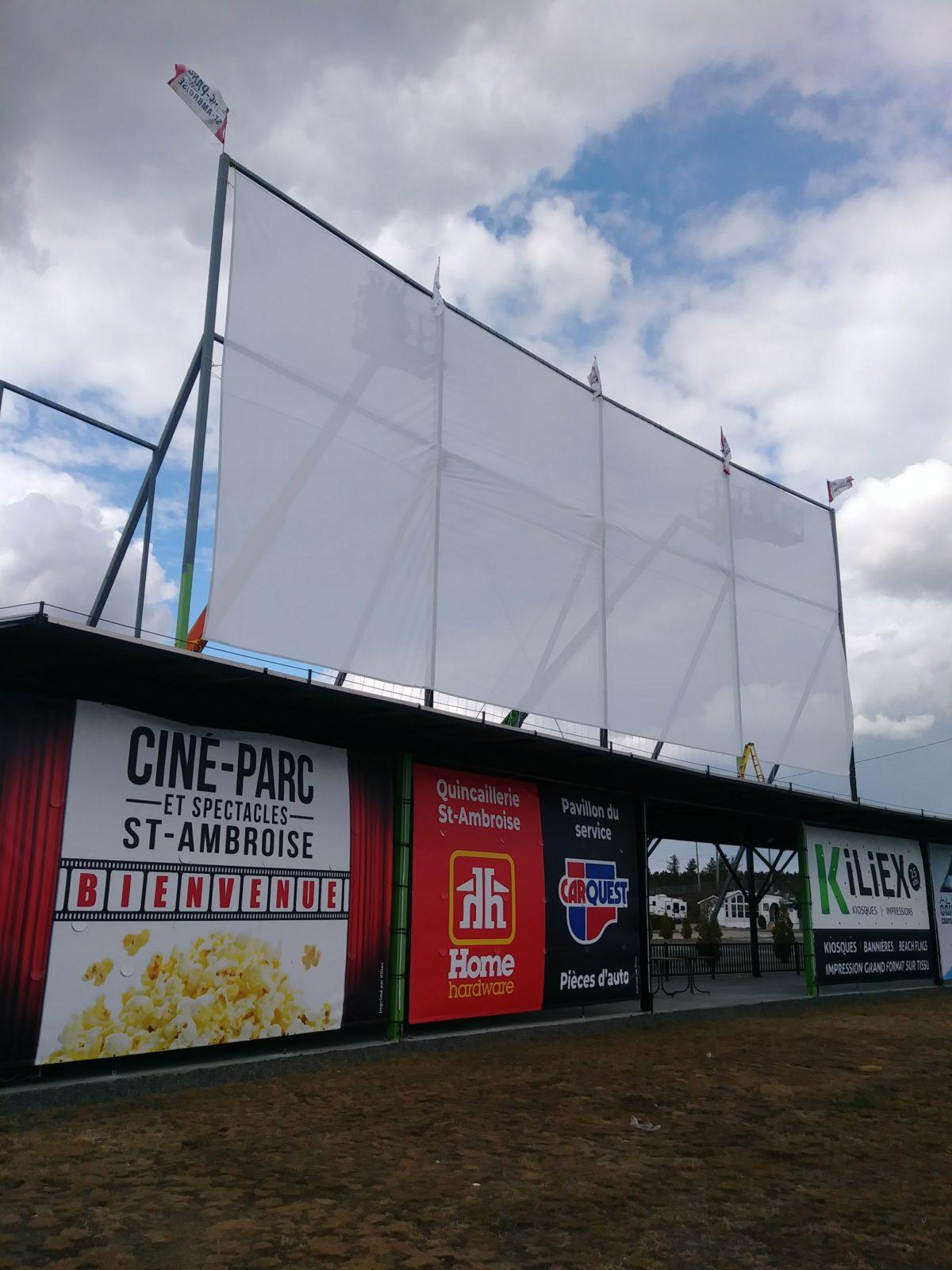 Un ciné-parc sans pareil au Québec