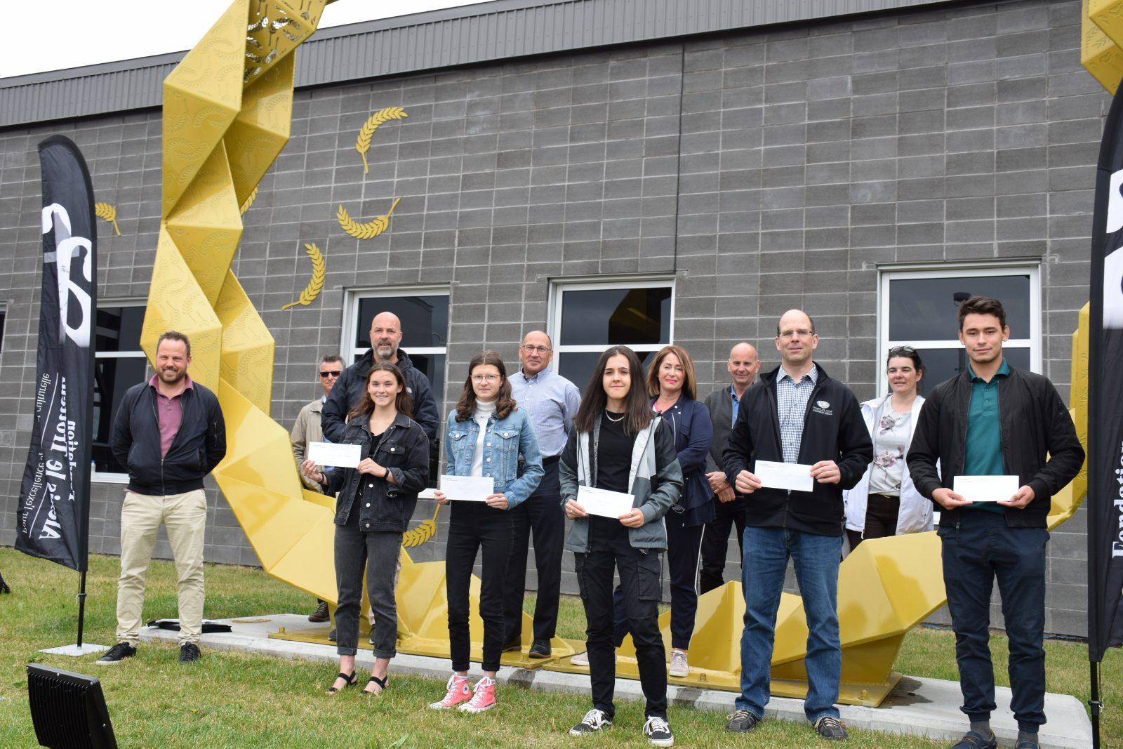 Fondation Alexis-le-Trotteur : 8 050 $ remis en bourses