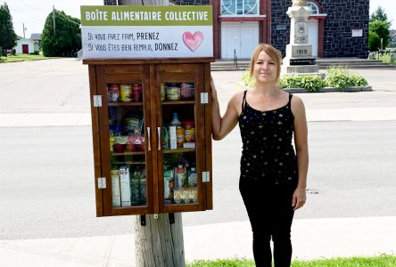 Une boîte alimentaire collective à Saint-Bruno