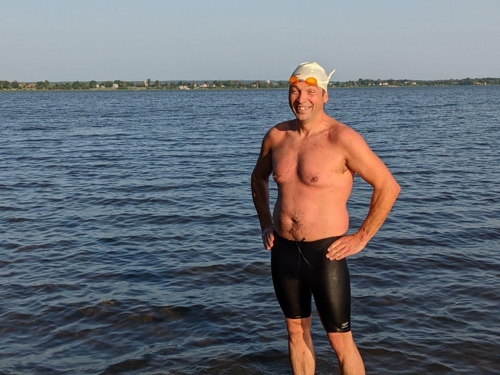 Traversée Internationale du lac Saint-Jean: Alexandre Harvey tentera sa chance
