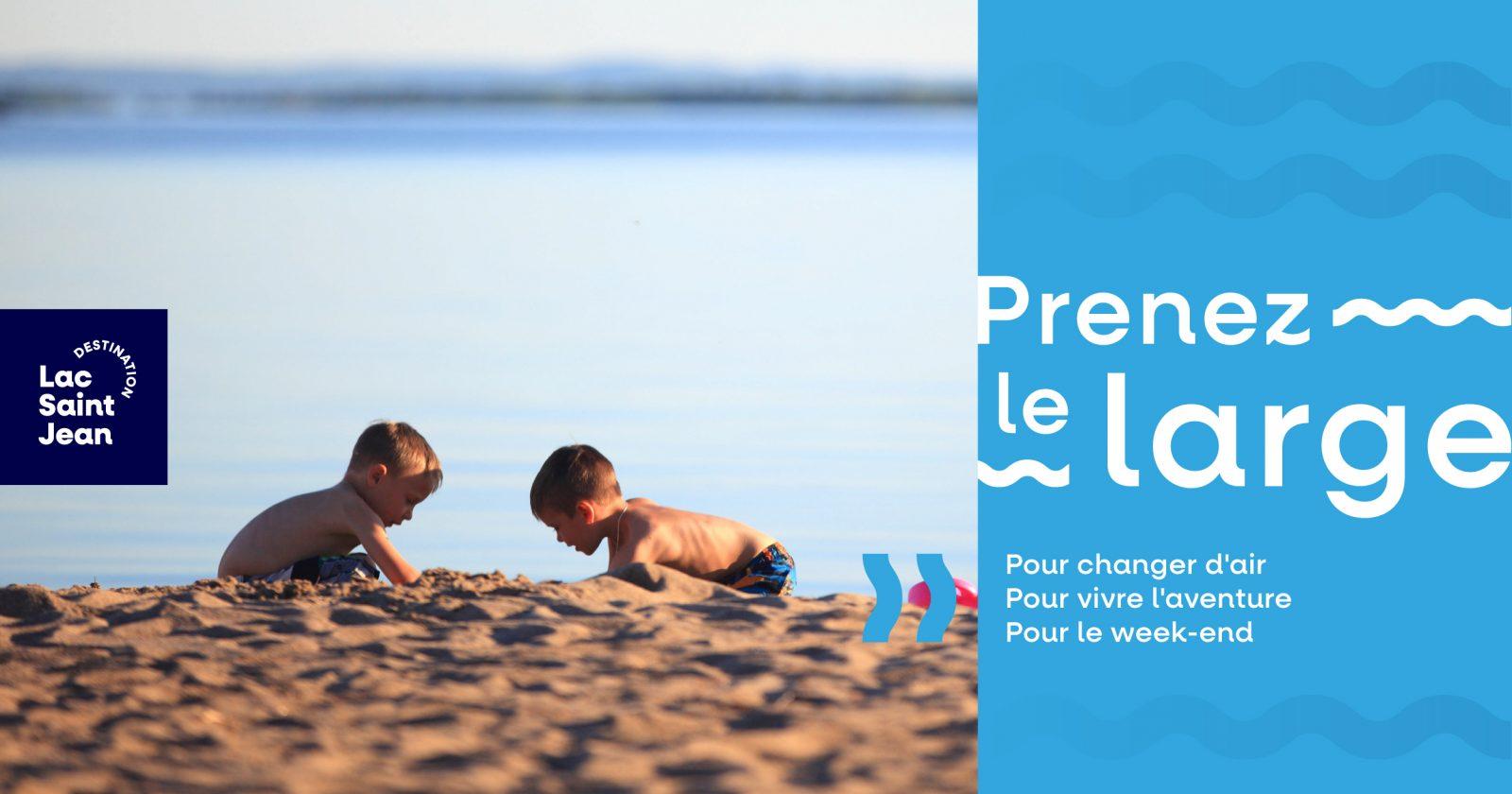 « Prenez le large » : Destination Lac-Saint-Jean lance sa nouvelle campagne