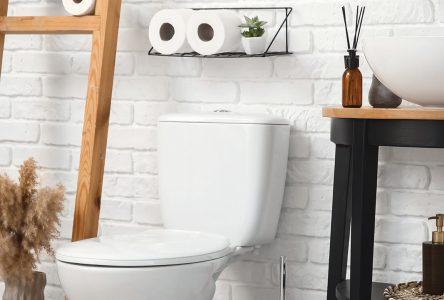 4 astuces pour refaire votre toilette