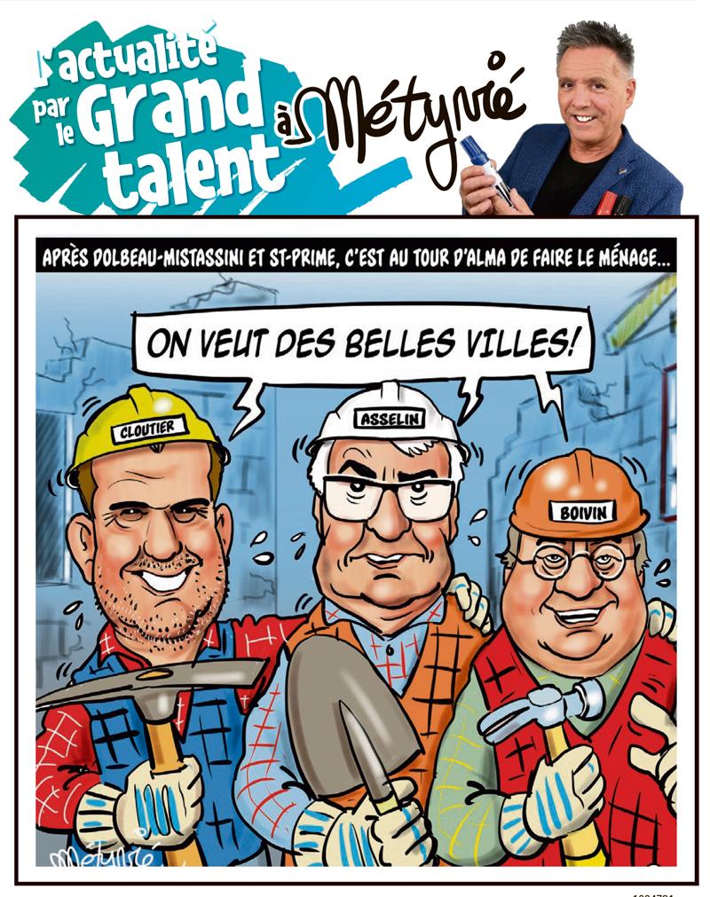 L'actualité par le Grand talent à Métyvié du 14 juillet 2021