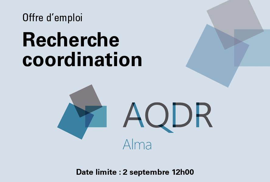 AQDR Alma : recherche responsable de la coordination