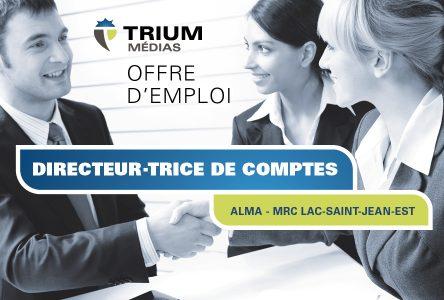 Trium Médias recherche un DIRECTEUR DE COMPTES