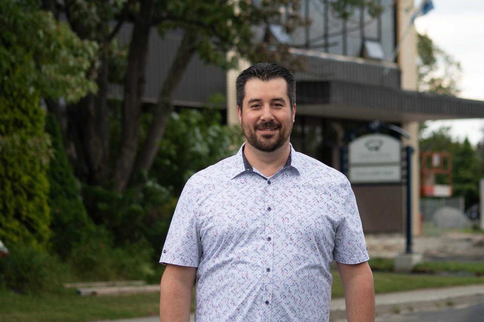 Louis Leclerc candidat dans le district 2