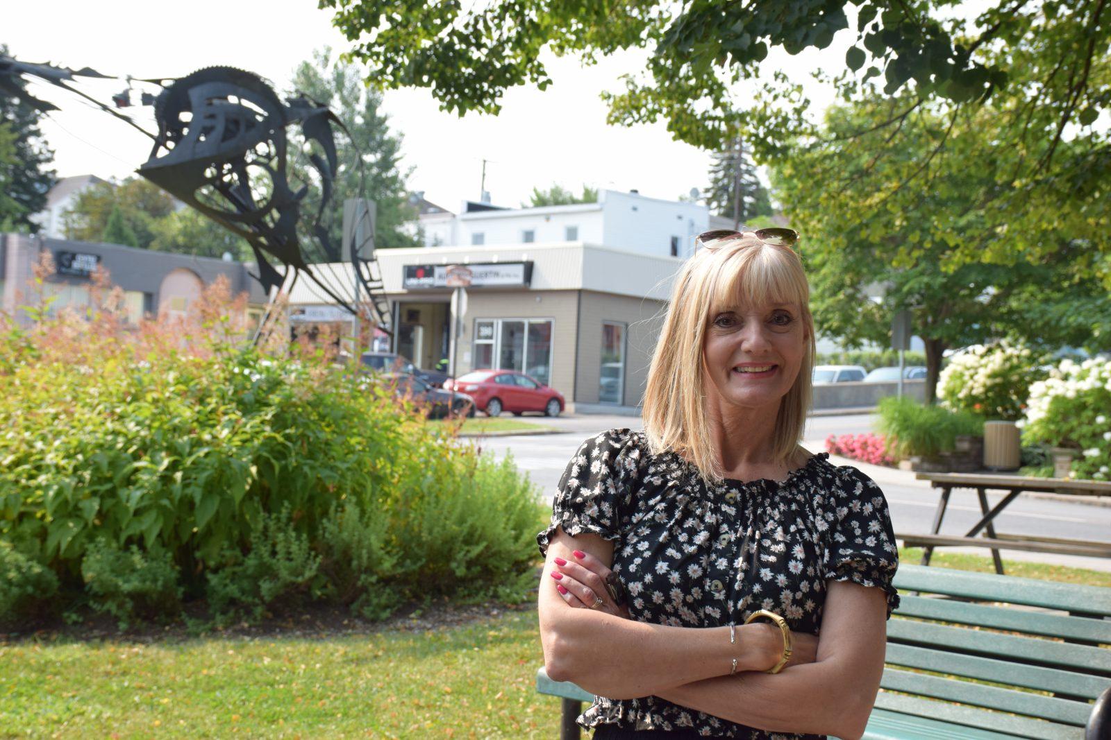 Mairie d'Alma: Sylvie Beaumont déjà en campagne