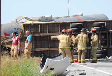 Un grave accident fait deux morts à Saint-Gédéon