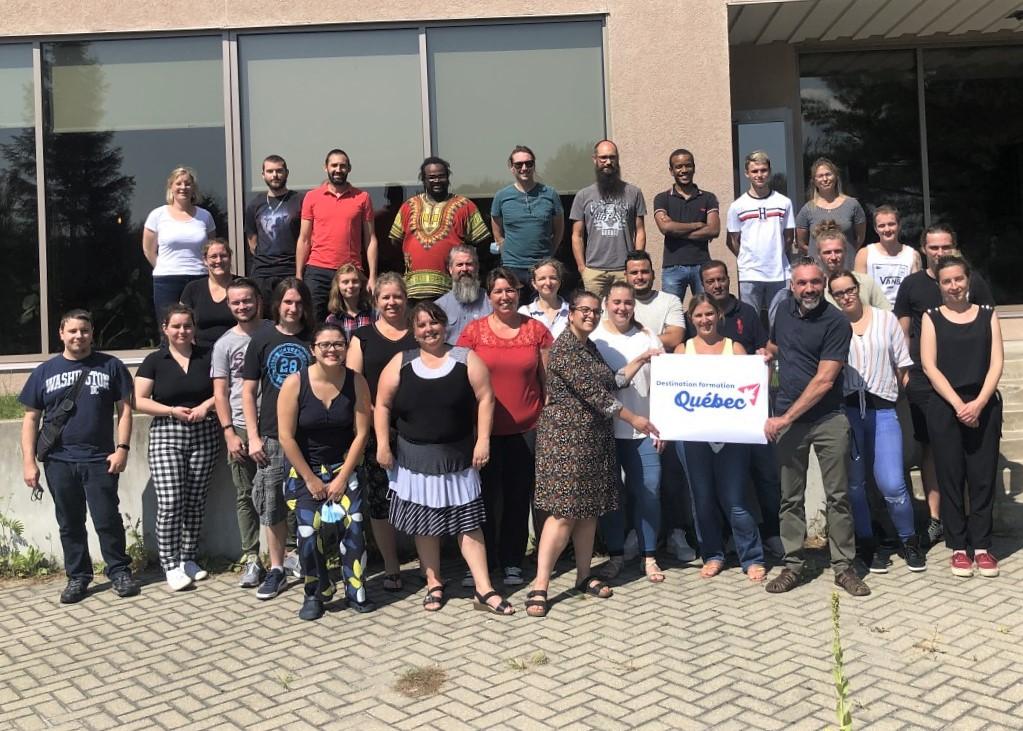 Destination Formation Québec: Les CFP accueillent une soixantaine d'étudiants étrangers