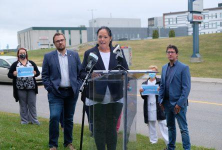 Élections fédérales: La santé, une priorité pour Julie Bouchard