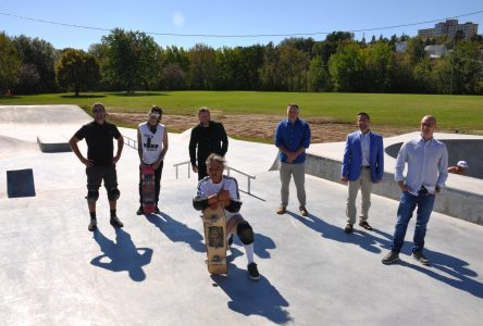 Ville d'Alma inaugure son nouveau skatepark
