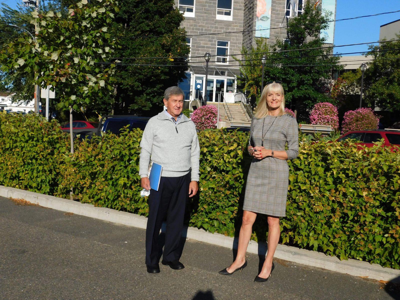 Sylvie Beaumont officiellement candidate à la mairie